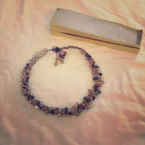 Beautiful Boutique Beaded Necklace